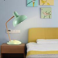 Многоцветный бар Кофе магазин Книги по искусству Декор настольная лампа настольная свет работа в офисе свет для малыша Спальня классе иссл