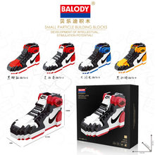 20e5a6c5f 2018 balody nuevo lindo deporte Zapatos bloques de construcción Nano  diamante ladrillos Jordan zapatos de baloncesto