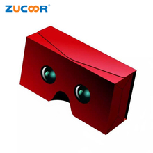 Google Cardboard 3D VR Glasses Virtual Reality Box Goggles 3D Viewing Binocular Glasses for 4.0-6.0 inch Android iOS Smartphone