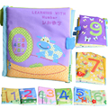 Baby Learning Education Toys Reading Cloth Books Baby Toys 0-12 Months Learning Number Infant Kids Early Development Cloth Books