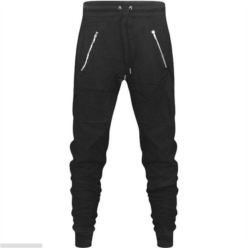 TREVOR LEIDEN Mens Casual Pants New Arrival Spring Mens Clothing Sweat Pencil Pants Cotton Trousers Mens Joggers High Quality