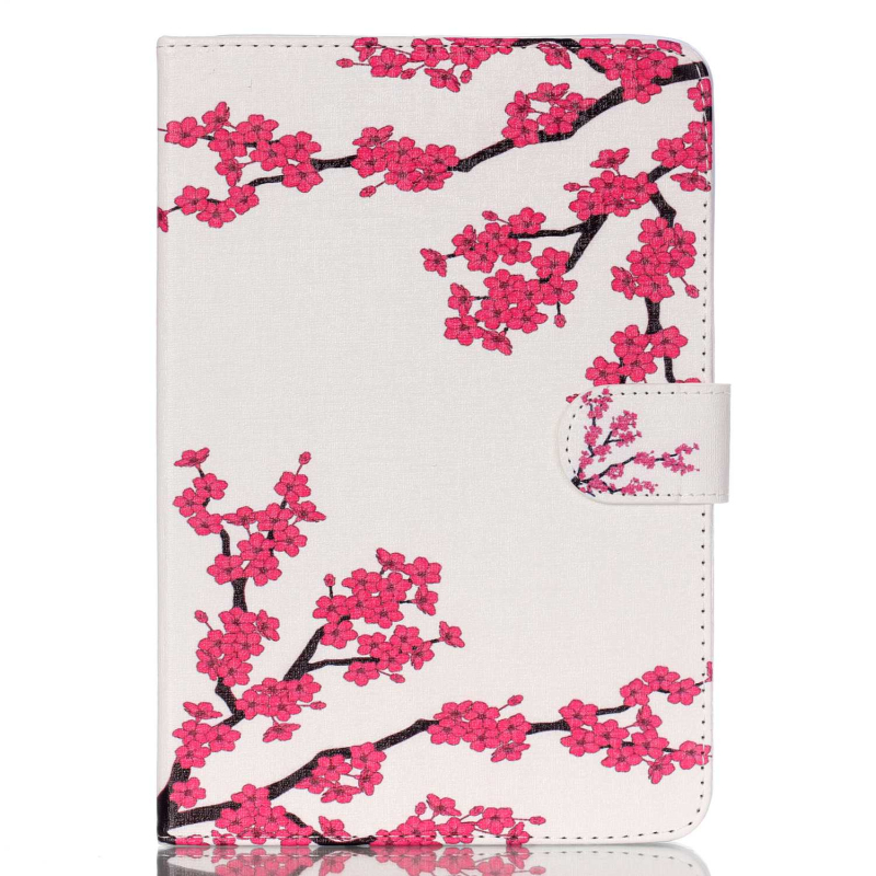 Case for iPad Mini Fashion Flower Printings Flip Magnetic PU Leather Case for iPad Mini 2 Retina Mini 3 Cover with Card Slots top quality hot selling fashion design anchors pattern flip stand leather case cover for ipad mini 2 retina jul 12