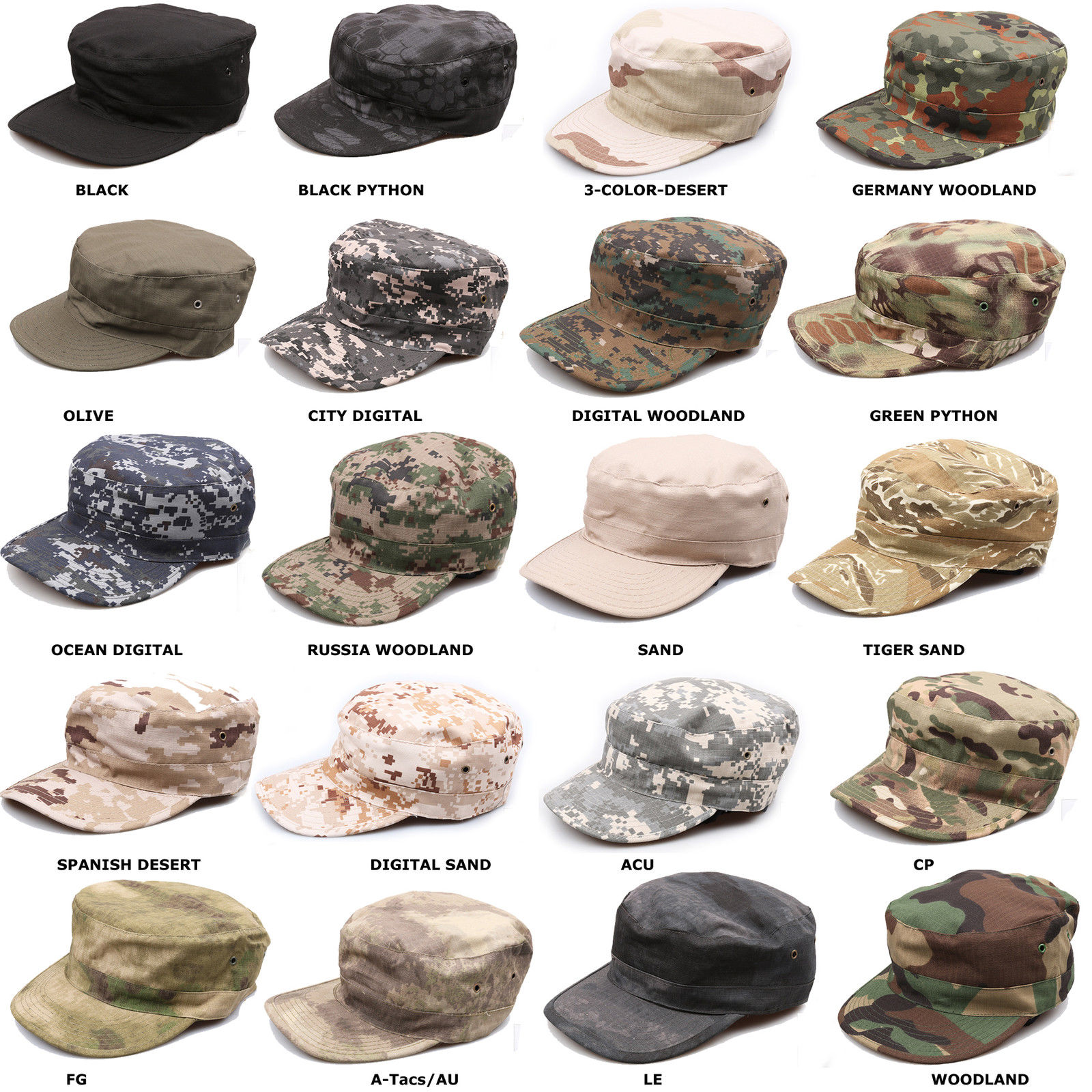Coolhat Womens Mens Evil Military Skull Casual Adjustable Dance Hat