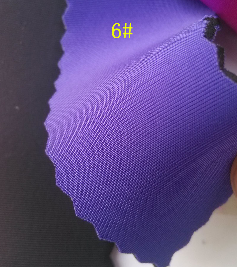 Blue Lycra Fabric Coated Srb Neoprene Rubber Fabrics 25Mm -8628