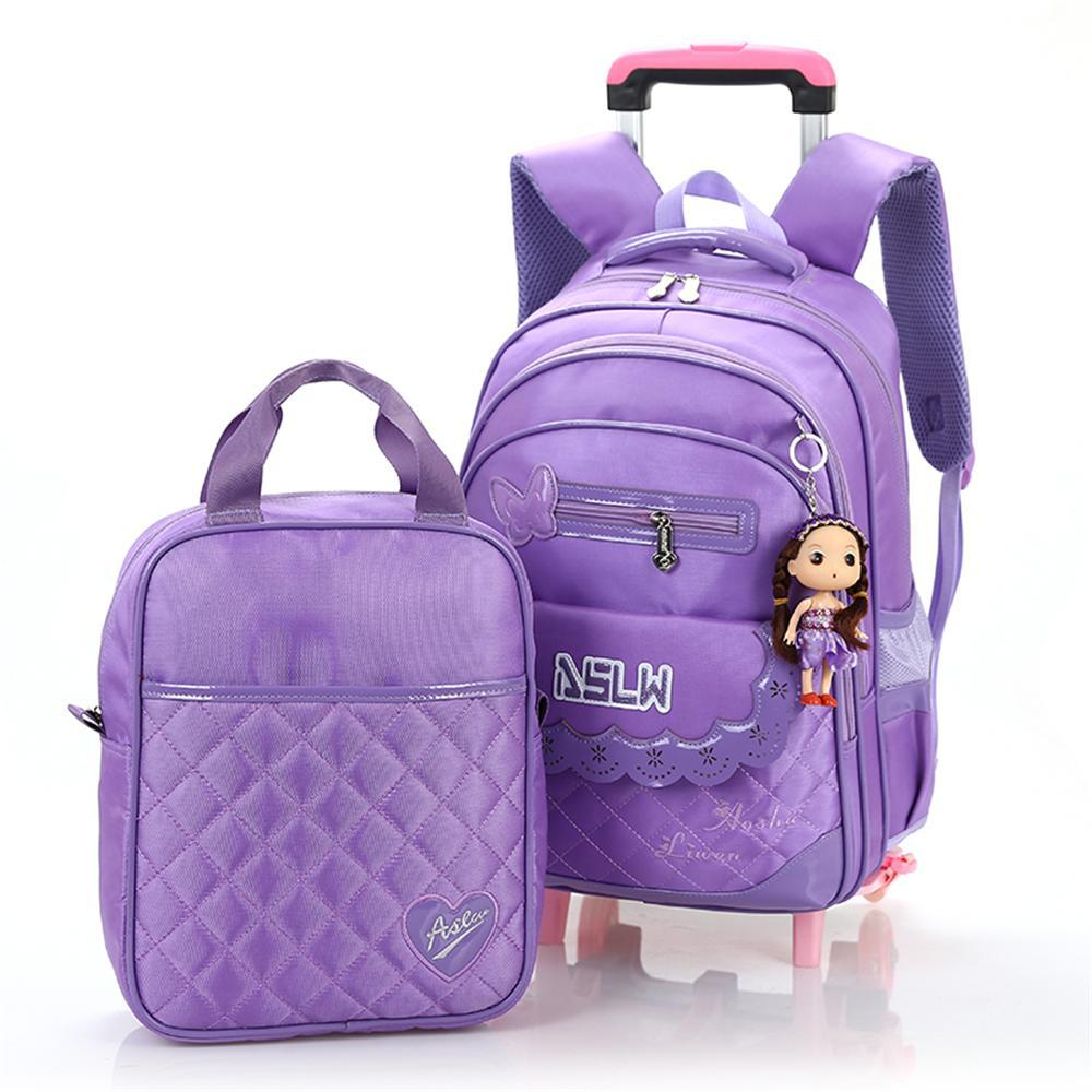 Typically, kids' backpacks are available in a range of sizes, including extra small Pre-K backpacks, as well as small, medium and large. Depending on how far your child will need to tote his or her bookbag and whether it will double as kids' luggage, you may need to pick one with larger interior compartments than your child needs for school.