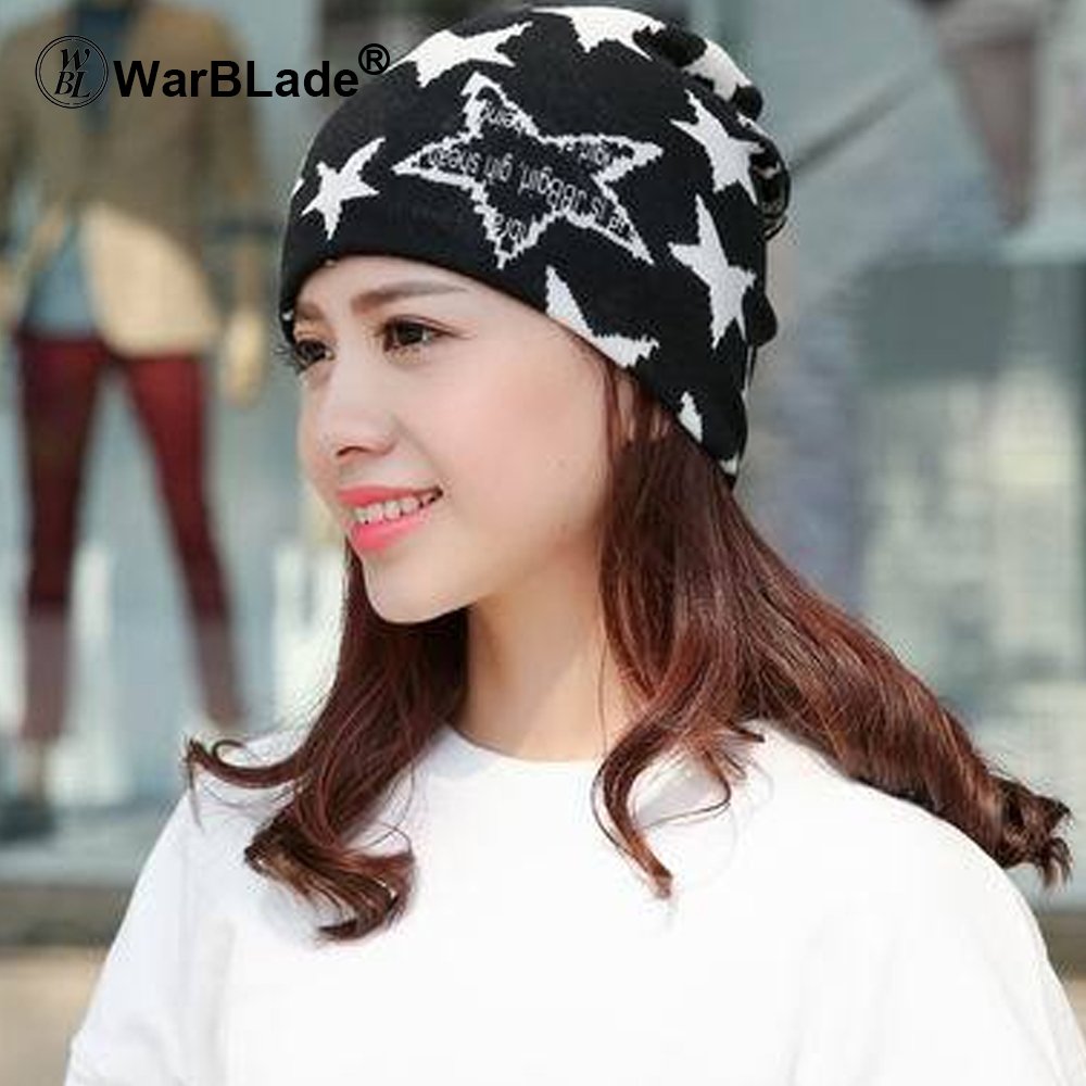 2018 New Women Hat Polyester Adult Casual Floral Women's Hats Spring Autumn Two Used Female Cap Scarf 3 Colors Fashion Beanies