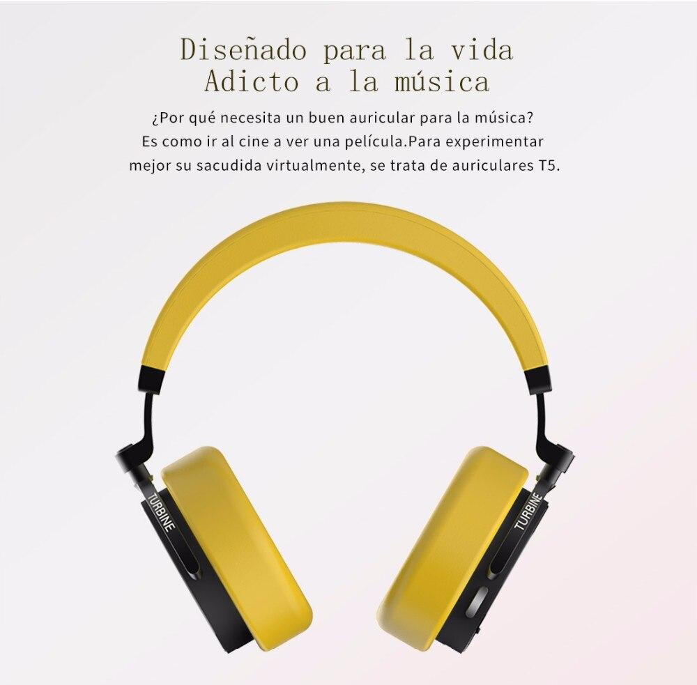 Headphone Bluetooth Bluedio T5 fone Sem Fio