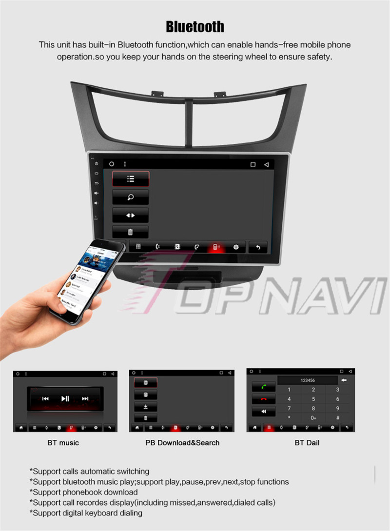 car stereo android For Chevrolet Sail 3 2015