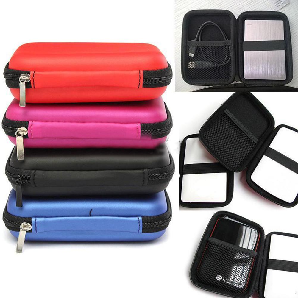 New 2.5 Inch External USB Hard Drive Disk Carry Case Cover Pouch Bag for SSD HDD