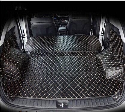 High quality Full set car trunk mats for Hyundai Tucson 2017 waterproof boot carpets cargo liner