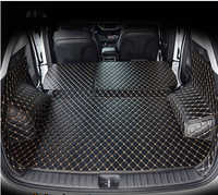 Juego completo de esteras de maletero de coche de alta calidad para Hyundai Tucson 2017 alfombras impermeables para botas estera de forro de carga para Tucson 2016
