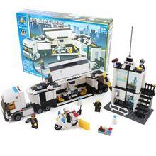 511Pcs Kids Toys City Street Police Station Car Truck Building Blocks Bricks Educational Children Birthday Gift Legoing