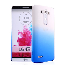 Ultra Thin Clear Transparent Soft TPU Phone Cases For LG G2 G3 G4 G5 Fashion Gradient Color Back Cover Case Capa