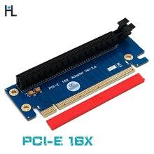 PCI Express 16x Riser Card PCIe видеокарта pci-e рулевая карта 90 градусов правый угол Riser адаптер карта для 1U 2U хоста