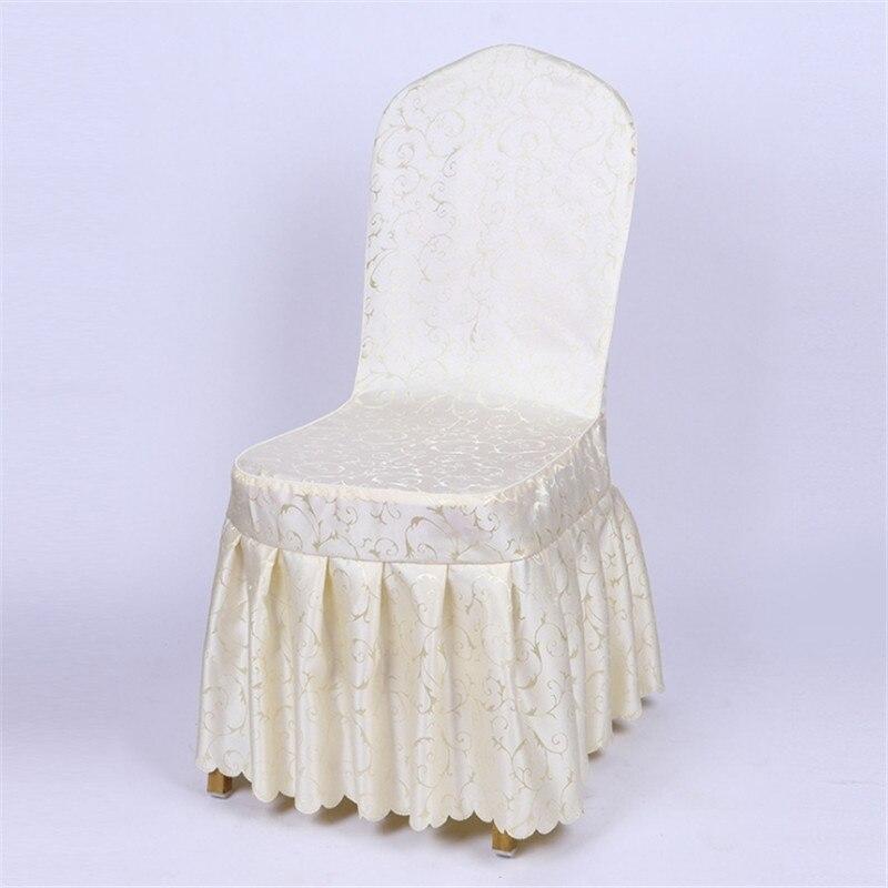 2019 new style high-quality European banquet chair cover, pure color chair cover  2019 new style high-quality European banquet chair cover, pure color chair cover