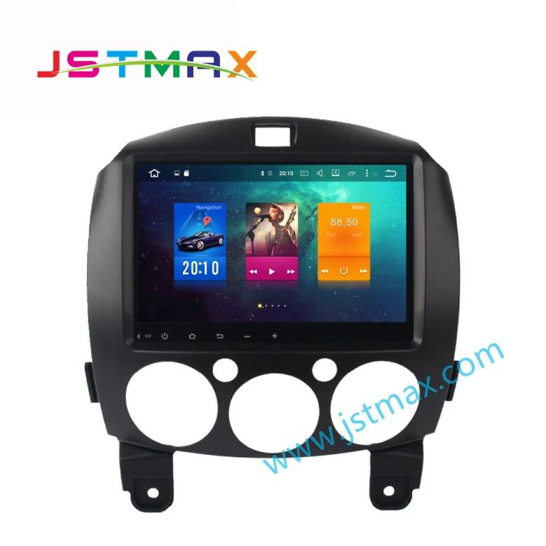 9&#8243; Android 6.0 Media <font><b>Car</b></font> GPS Player for MAZDA 2 2007-2013 with Octa Core 2GB Ram Auto Radio Multimedia GPS NAV