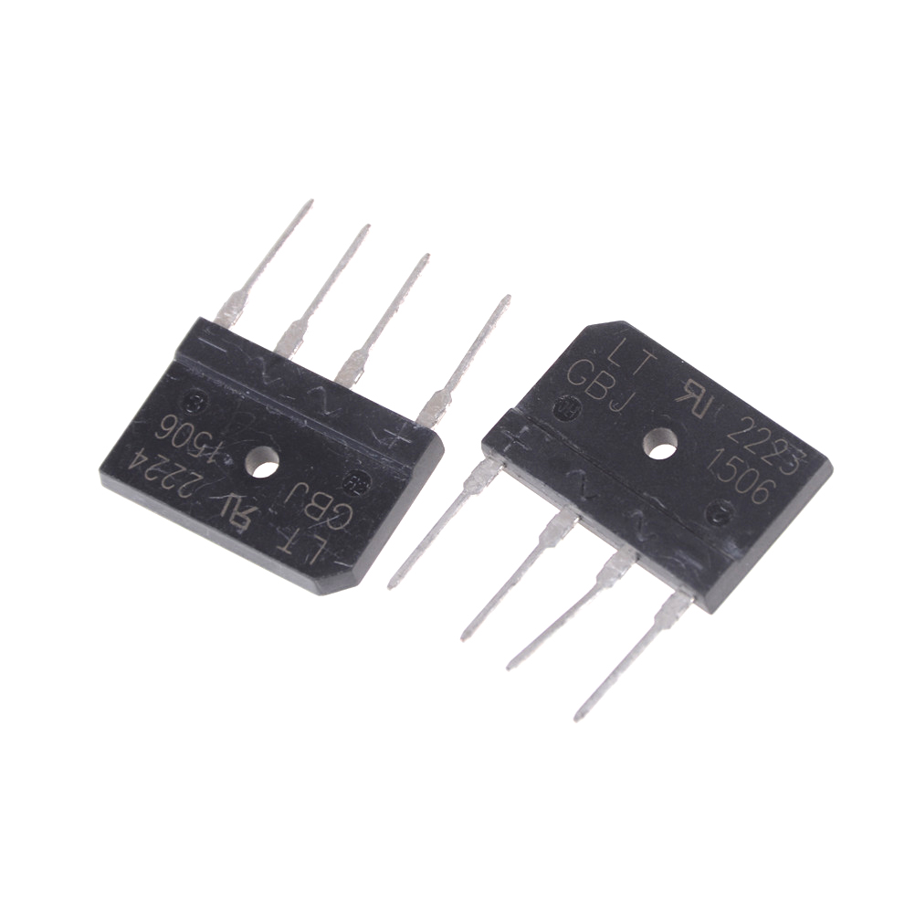 2pcs Lot Full Wave Flat Bridge Rectifier Gbj1506 15a 600v Black Supply Micro Digital Plastic Diode High Quality In Connectors From Lights Lighting On