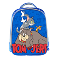 Tom and Jerry/ Robocar POLI Blue School Bags for Teenagers 13inch Cartoon Prints Boys Girls Children Kids School Bag