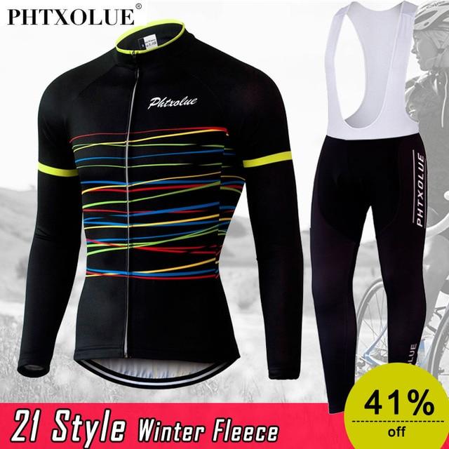 4e09d306f ... Phtxolue Winter Thermal Fleece Cycling Clothing Wear Bike MTB Jerseys  Cycling Sets 2016 Men s Cycling Jersey ...