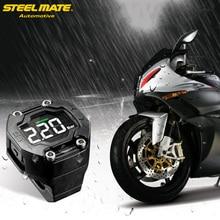 Steelmate et-900ae DIY мотоцикл TPMS шин Давление Мониторы мотоцикл сигнализация Системы с внешними Сенсор Беспроводной ЖК-дисплей Дисплей
