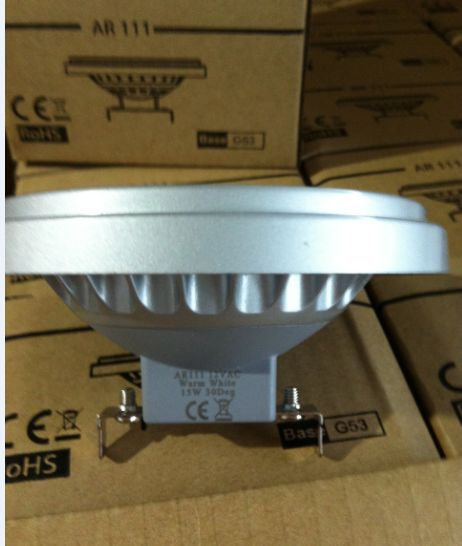 Free Shipping Ar111 G53 30degree 11w 12vac Cri80 Warmwhite Coldwhite SMD LED spot light Wholesales