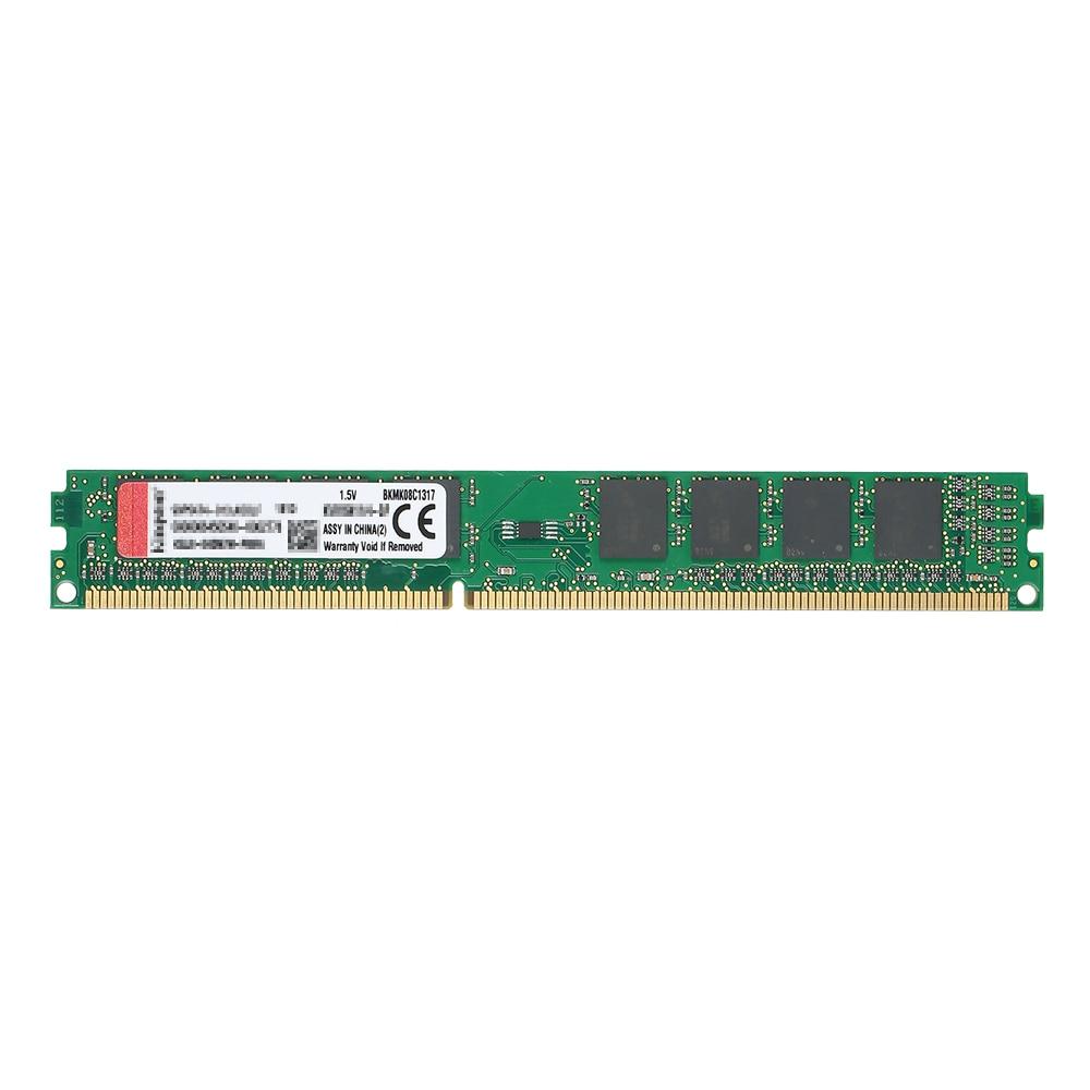 все цены на Kingston Original RAM 4GB 8GB 1600MHz DIMM Intel Ram DDR3 1.5V 240-Pin CL11 Memory Ram For Desktop PC Memory Stick Module RAM онлайн