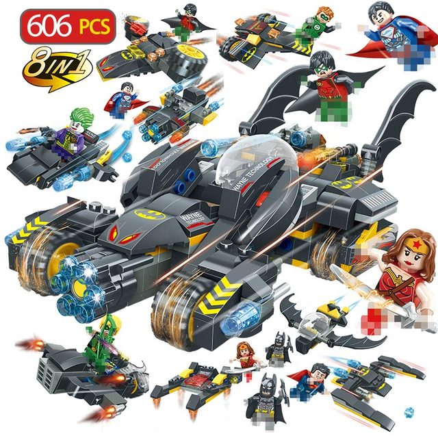 Es Chariot Modèle Héros Dégagement Super Pièces Film 606 Batman Pn8XN0wOk