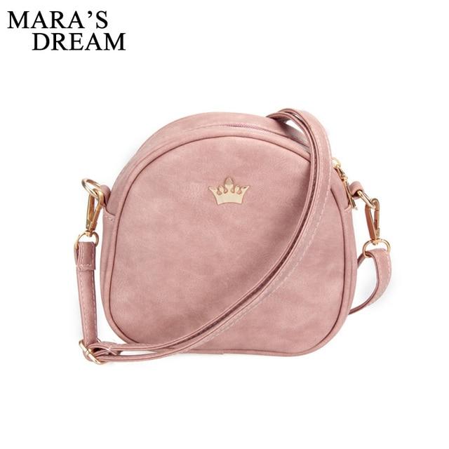 Mara s Dream 2019 Handbag Phone Purse Women Small Bag Imperial Crown PU  Leather Women Shoulder Bag Small Shell Crossbody Bag -in Shoulder Bags from  Luggage ... fd01f4801d056