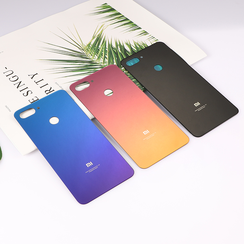 Mi8 Lite Original Housing For Xiaomi Mi 8 Lite Battery Door Glass Back Cover Mobile Phone Replacement Parts CaseMi8 Lite Original Housing For Xiaomi Mi 8 Lite Battery Door Glass Back Cover Mobile Phone Replacement Parts Case