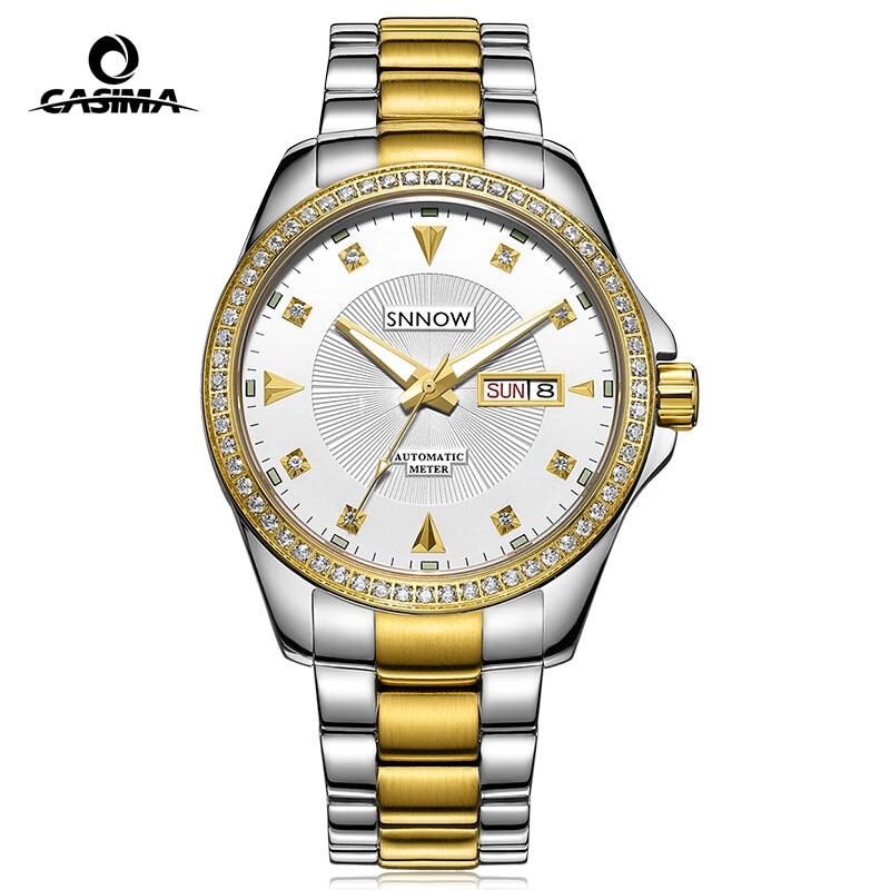 Casima automatic mechanical watches men business dress classical charm men 39 s watch quartz for Casima watches