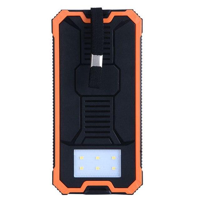 Солнечный Poverbank Телефон Для Xiaomi Iphone Power Bank Зарядное устройство Портативный Мобильный Pover Bank Mi Powerbank 10000 мАч