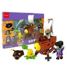 Новые Растения против Зомби игра строительные блоки игрушки