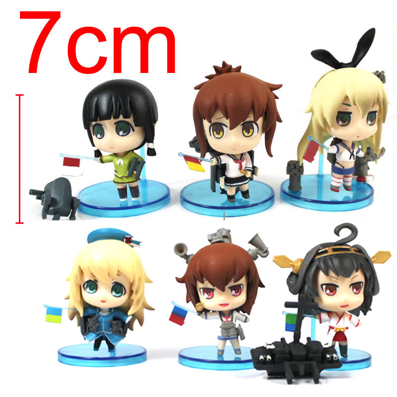 Anime Kantai Collection Yukikaze Shoukaku Zuikaku PVC Action Figure Collectible Model Toy Christmas Gift for Children one piese action figure 28cm dracula mihawk arrogant expression model pvc figures collection toy for children