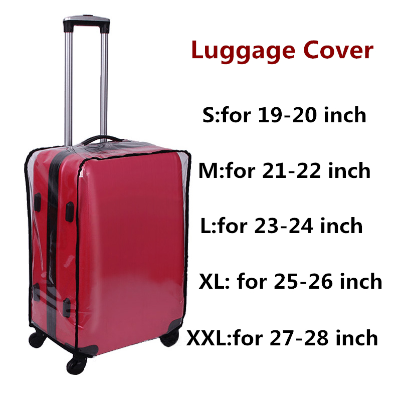 pvc transparente capa protetora bolsaagem Other : Cheap Suitcases Covers, travel Accessories, trunk