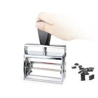 Handheld Máquina de Codificação Data De Tinta De Impressora Manual Pequena Máquina Tipográfica Stamping Carimbo de Data Coder Máquina Impressora Da Data De Expiração Impressoras     -