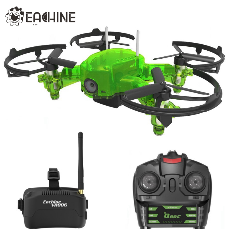 Eachine Q90C Flyingfrog FPV Racer Quacopter 1000TVL Camera VR006 Goggles Switch Freq Transimitter VS Eachine E013