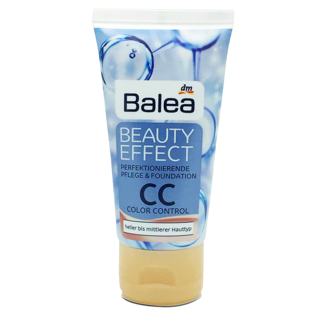 Germany Balea Toned Day Cream Beauty Effect CC Cream LSF20 Long-lasting Anti-wrinkle Whitening Brighten Reduce pigment spots