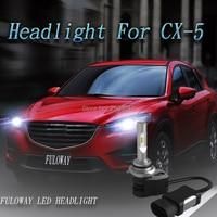 2X Car LED Headlights Blub H4 Hi Lo Beam H1 H11 H8 H9 H7 9005 HB3