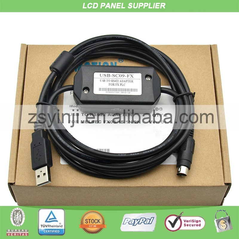 USB-SC09 SC09 FX PLC Programming Cable USB-SC09-FX For Serial  PLC Compatible FX2N/FX1N/FX0/FX0N/FX0S/FX1