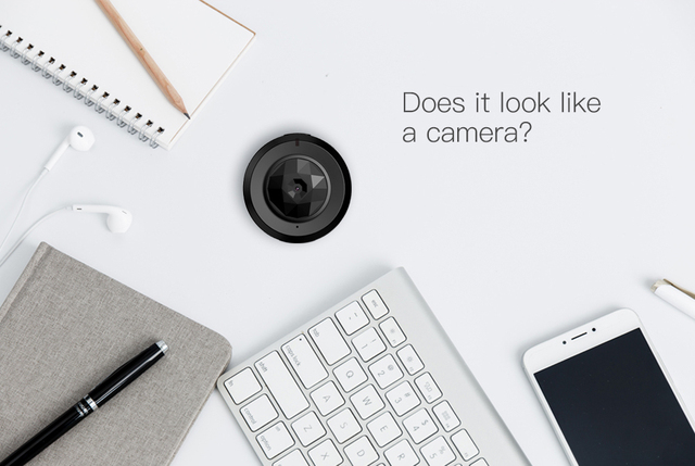 C6 Camsoy Cookycam Micro WIFI Mini Camera HD 720P With Smartphone App And Night Vision IP 4