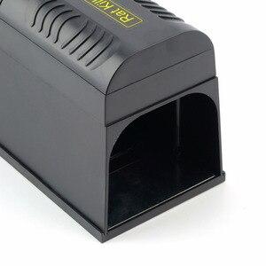Image 4 - Trampa eléctrica para ratas con enchufe para UE/EE. UU., ratones, roedores, adaptador de voltaje de choque eléctrico Mana Kiore, uso doméstico