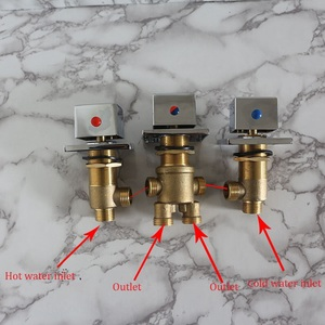 hot cold water Solid Brass swi