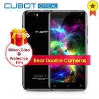 Original Cubot Magic Curved Display MT6737 Quad Core Rear Dual Cameras Smartphone Android 7 0 3GB