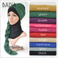 10pcs/lot new hijab scarf women glitter shimmer voile viscose solid plain hijabs muslim scarves shawls foulard stole islam wrap