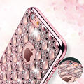 Bling Agate Diamond 6 6s Case Fashion Ultra Thin Soft TPU Rubber Silicone Cover Shockproof Phone Cases For iPhone 6 6S 4.7 Shell