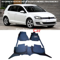 new! Car Floor Mats Carpets Foot Pads Protector Accessories For VW Volkswagen GOLF 7 2013 2014 2015 2016 Car styling