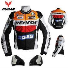 ДУХАН Moto Racing Куртки мотоцикл GP REPSOL мотоцикле Кожаная Куртка Высокое Качество ОКСФОРД-Джерси