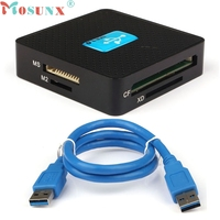 MOSUNX Futural Digital All In 1 USB 3 0 Compact Flash Multi Card Reader CF Adapter