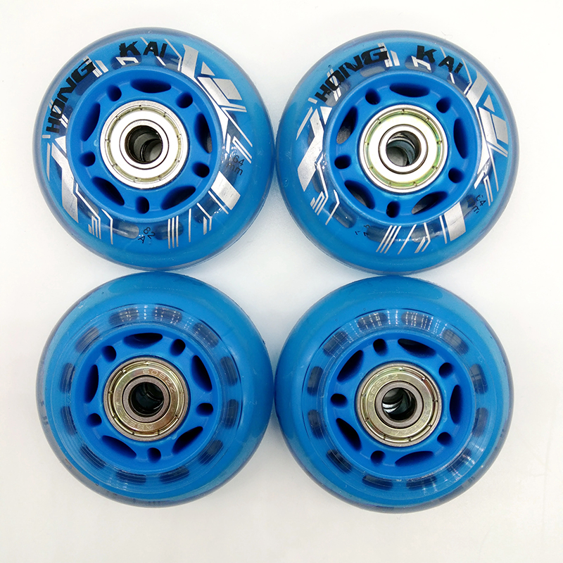 Free Shipping Children Roller Wheels Skates Wheel 64 Mm 70 Mm 72 Mm 8 Pcs/lot