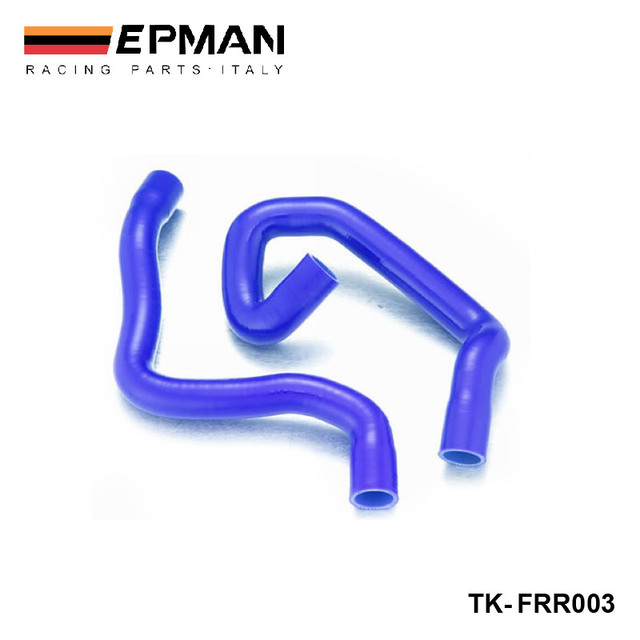 EPMAN - Silicone Intercooler Turbo Radiator Heaster Hose kit For Ford Focus Duratec 1.8/2.0 04 - 08+(2pcs) EP-FRR003